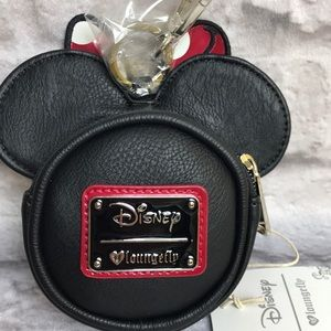 Lounge Fly Disney Minnie Mouse Coin Bag New